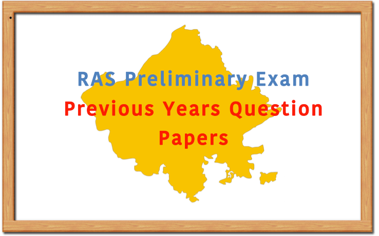 RAS Prelims Previous Years Question Papers by RPSC