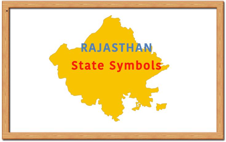 Rajasthan State Symbols: