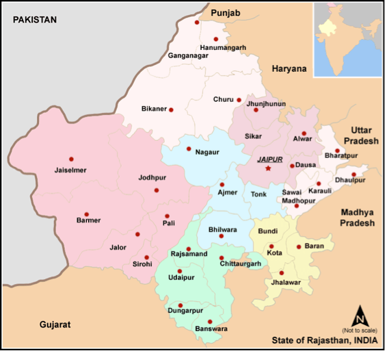 Administrative Setup of Rajasthan