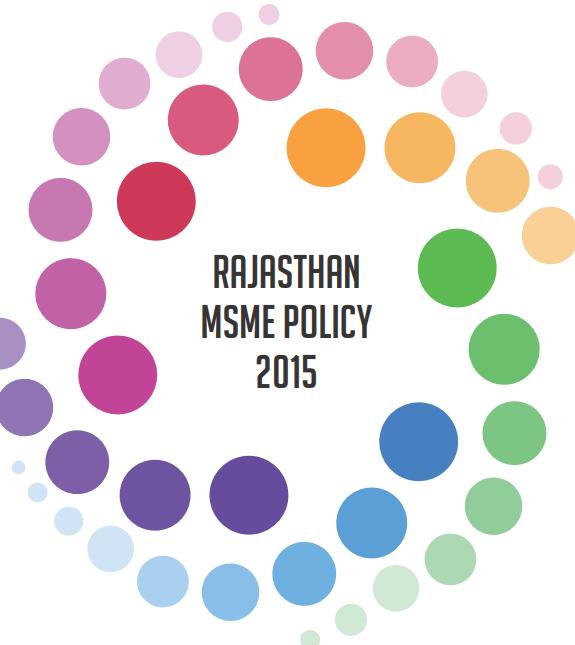Rajasthan MSME Policy 2015