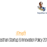 Draft Rajasthan Startup and Innovation Policy 2019