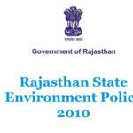 Rajasthan Environment Policy 2010