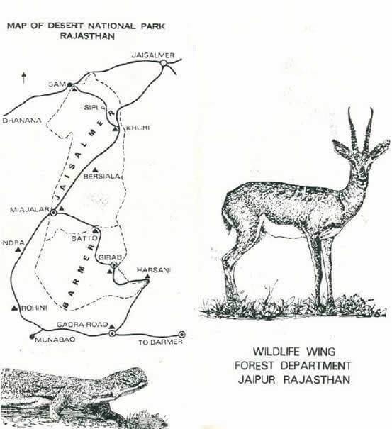desert-national-park jaisalmer barmer map