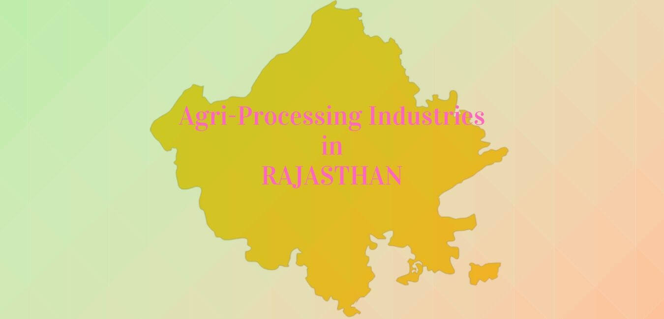 Agro-Processing Industries in Rajasthan