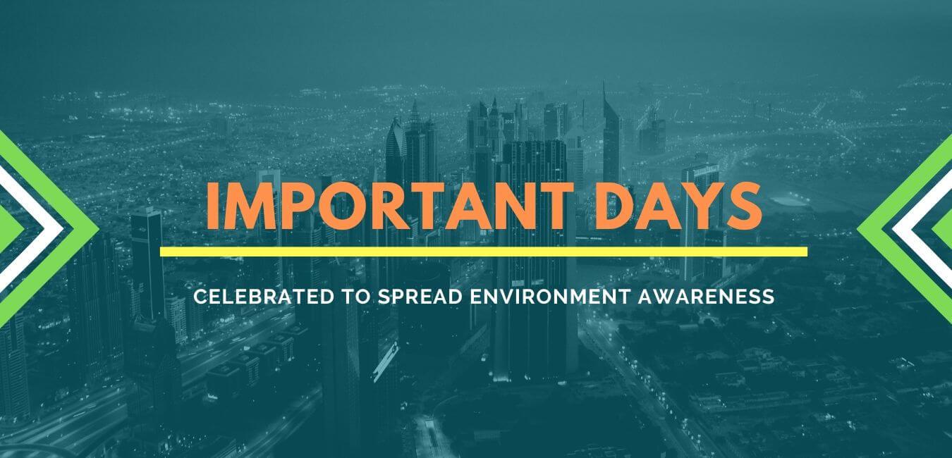 Environmentally Important Days