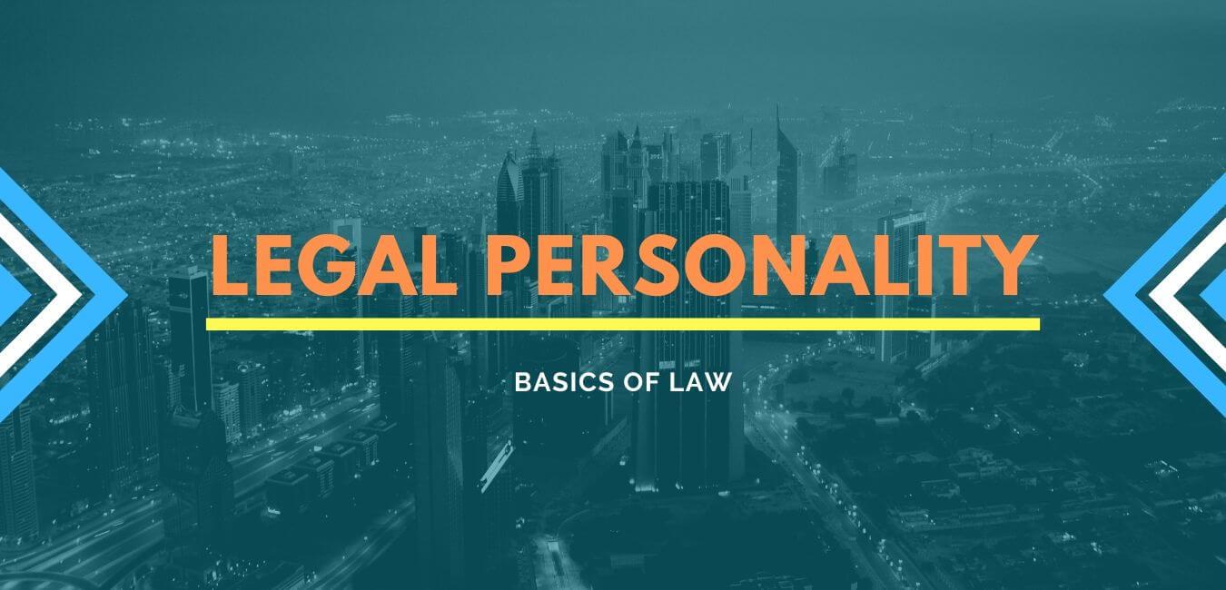 RAS Mains Law Legal Personality