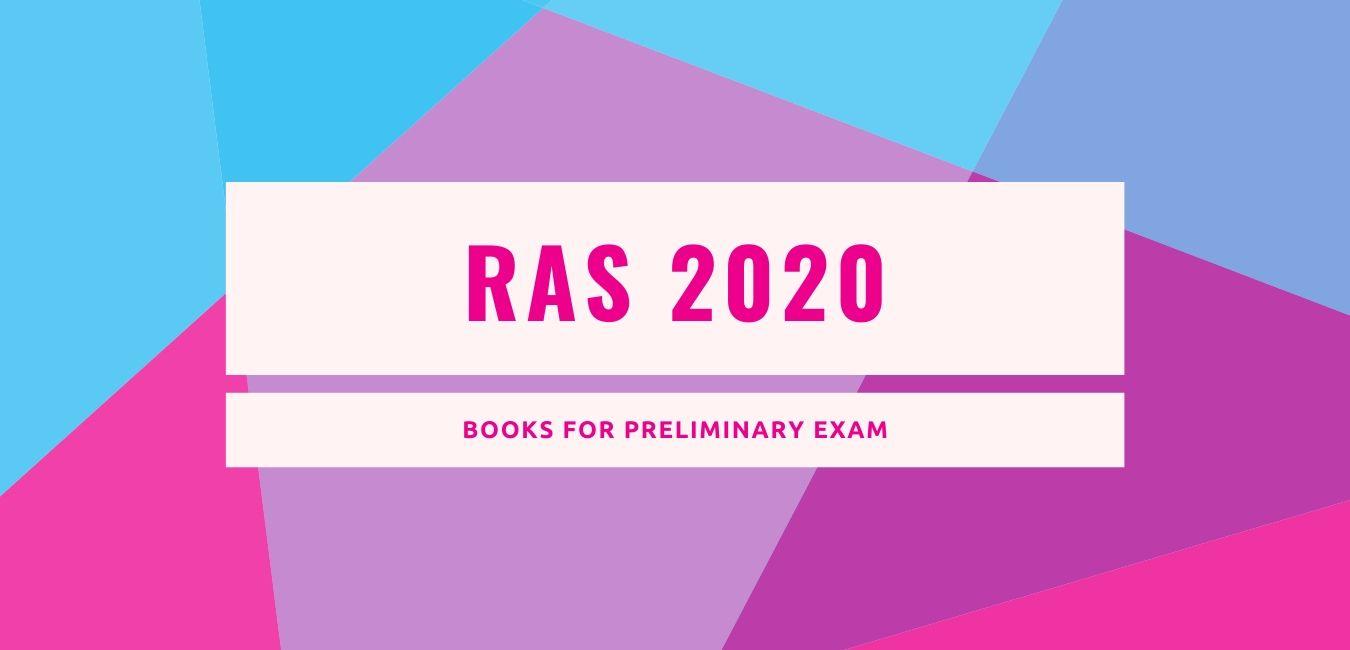Books for RAS Preliminary Exam