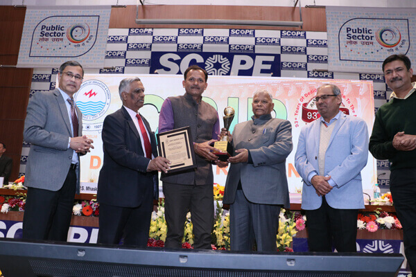 Rajasthan Water Resources Department bags two awards from CBIP