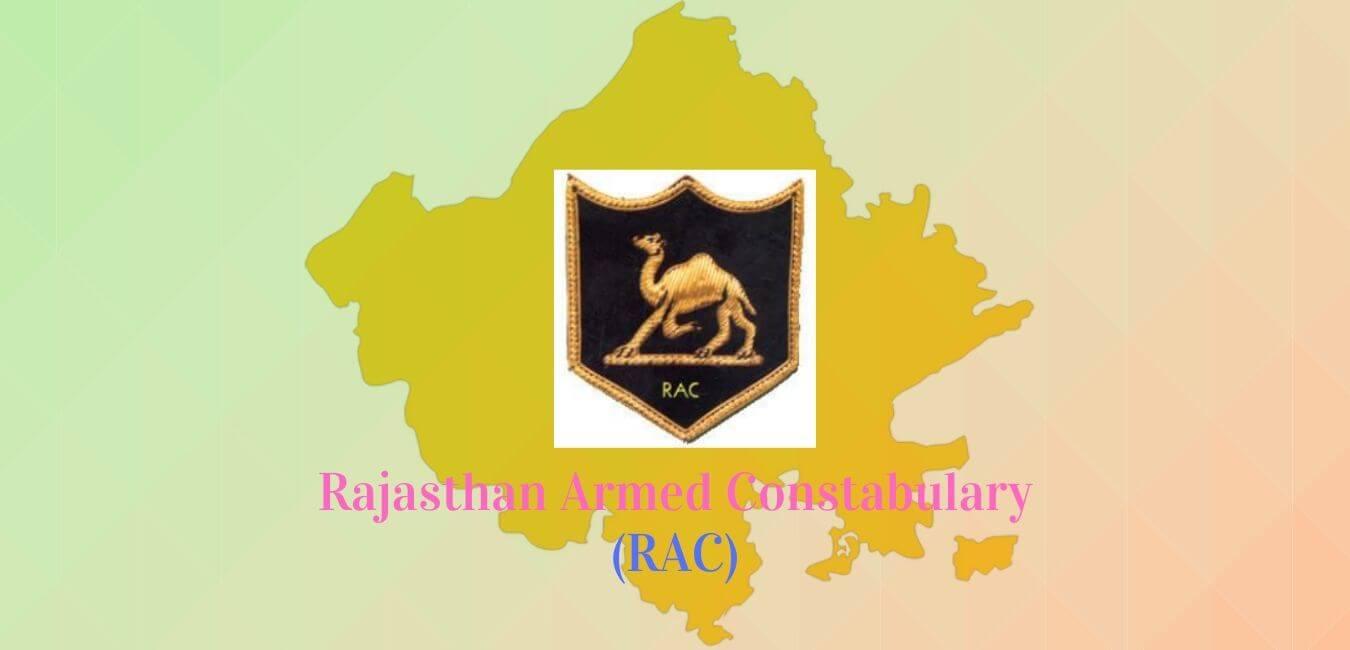 Rajasthan Armed Constabulary RAC