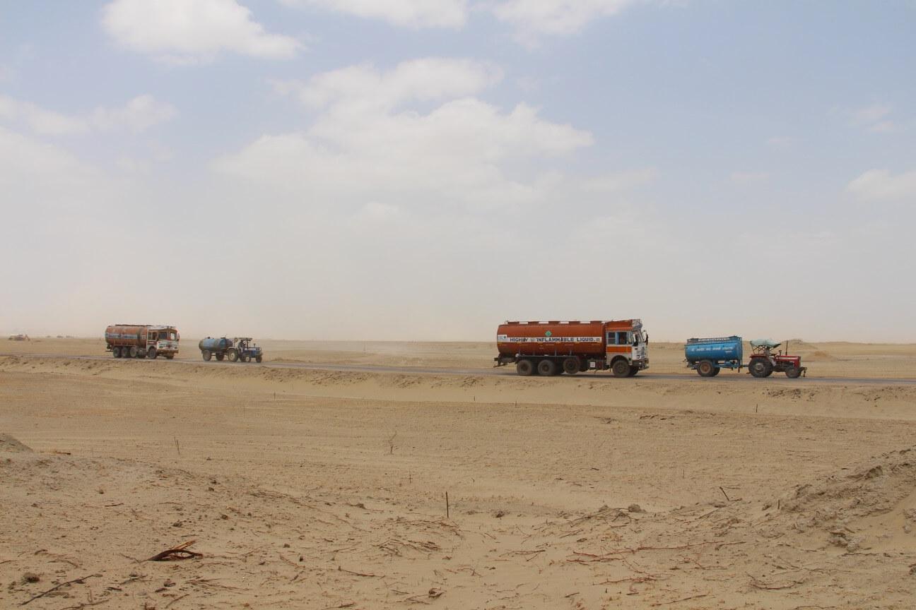 Water Reserves in Jaisalmer & Barmer