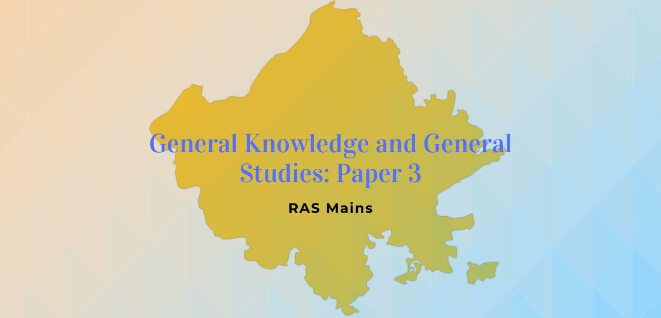 RAS Mains Paper 3