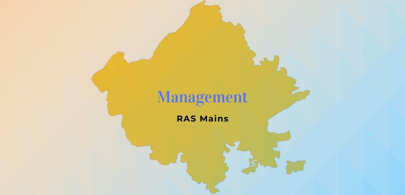 RAS Mains: Management