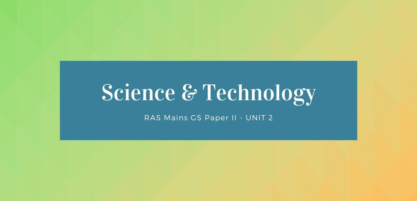 RAS Mains: Science & Tech