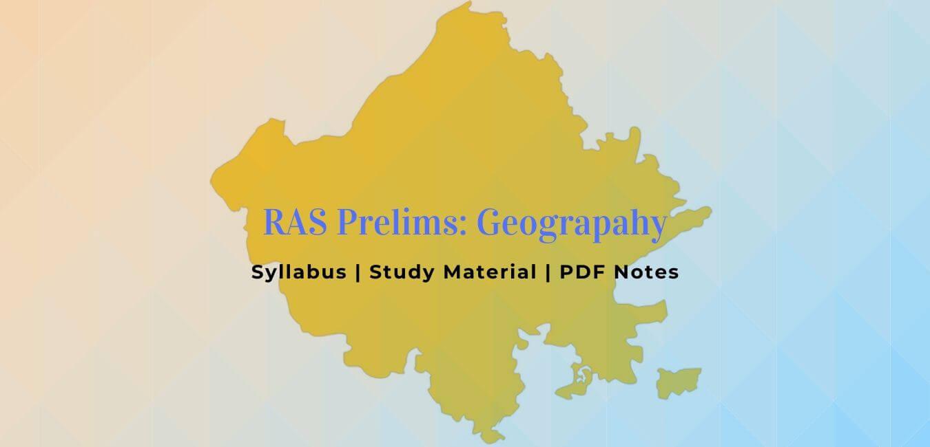 RAS Pre Geography