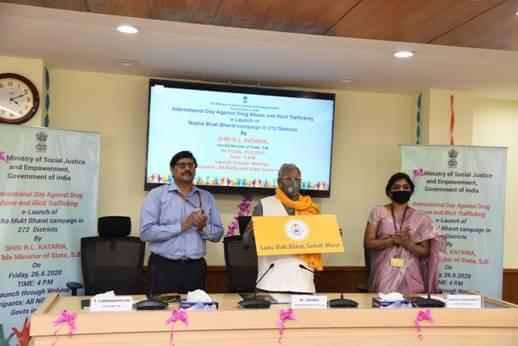 Nasha Mukt Bharat Action Plan Launched