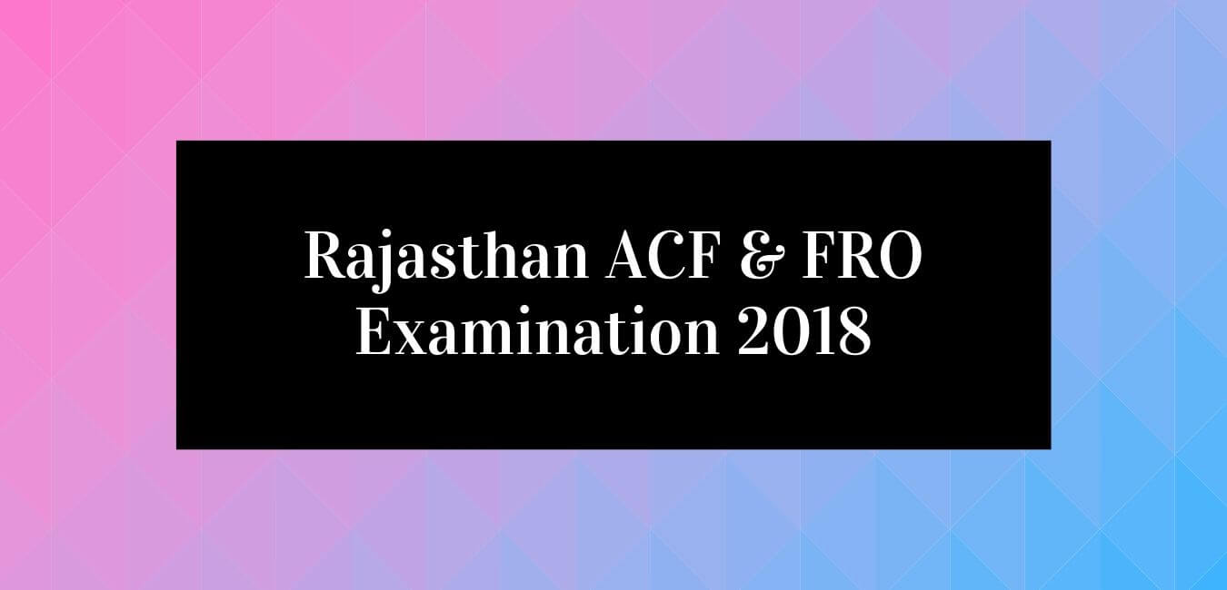ACF & Forest Range Officer Exam Preparation