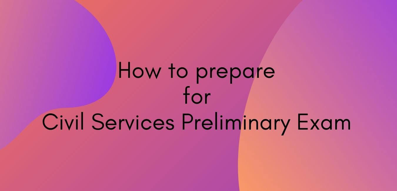 UPSC Prelims   Civil Services Preliminary Exam Preparation