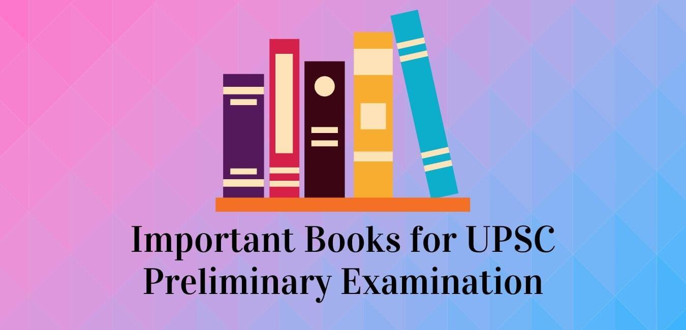 UPSC Prelims 2021 Books