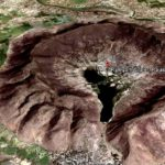 Ramgarh Impact Crater in Rajasthan India