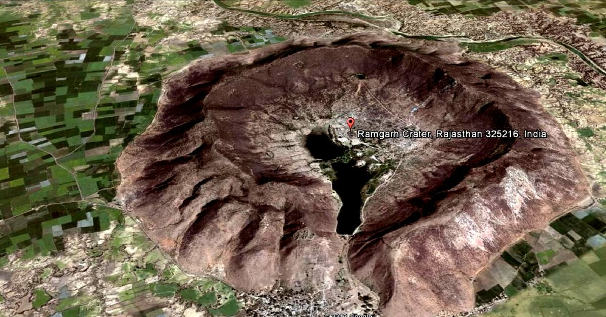 Ramgarh Crater gets Global Recognition