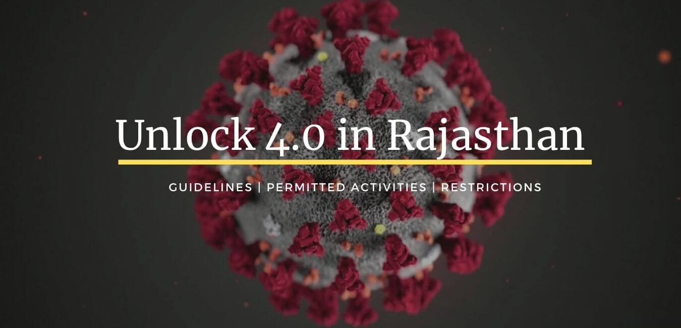 Unlock 4 in Rajasthan: Guidelines Permitted Activities