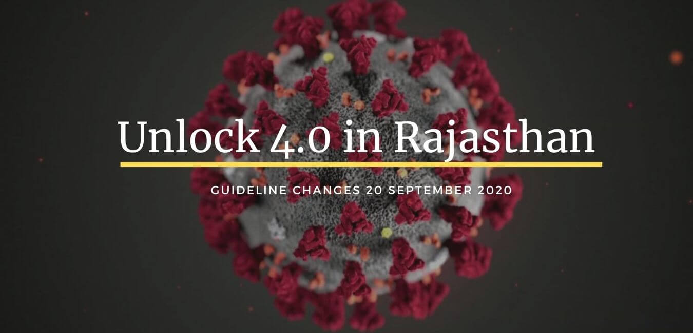 Rajasthan Changes Unlock 4 Guidelines to curb rising Covid-19 cases