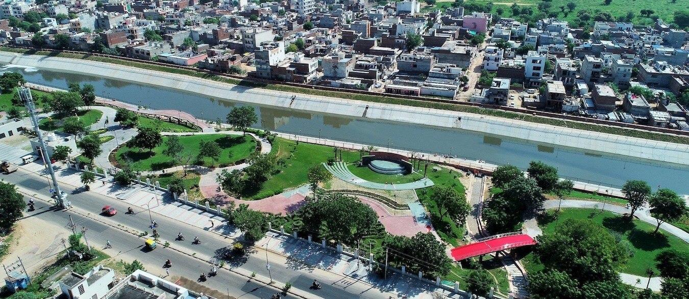 Dravyavati River in Jaipur