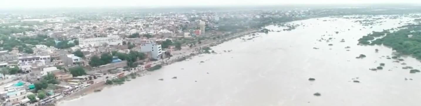 Luni River in Rajasthan