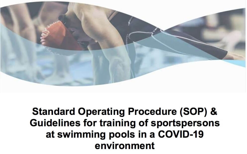 Sports Ministry releases SOP for Swimming Pools