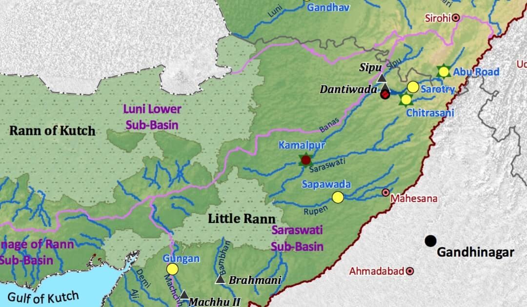 West Banas River Course Basin