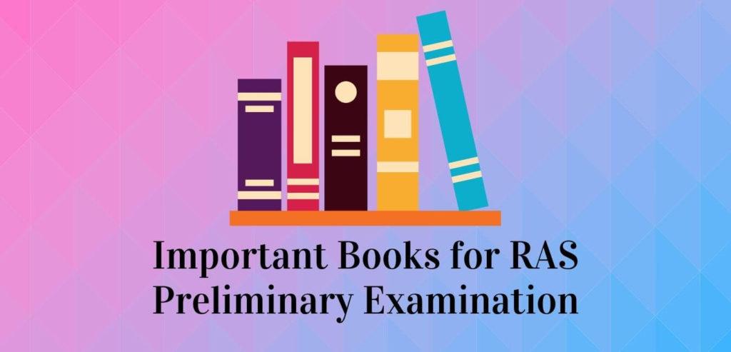 Important Books For RAS 2021 Pre Exam