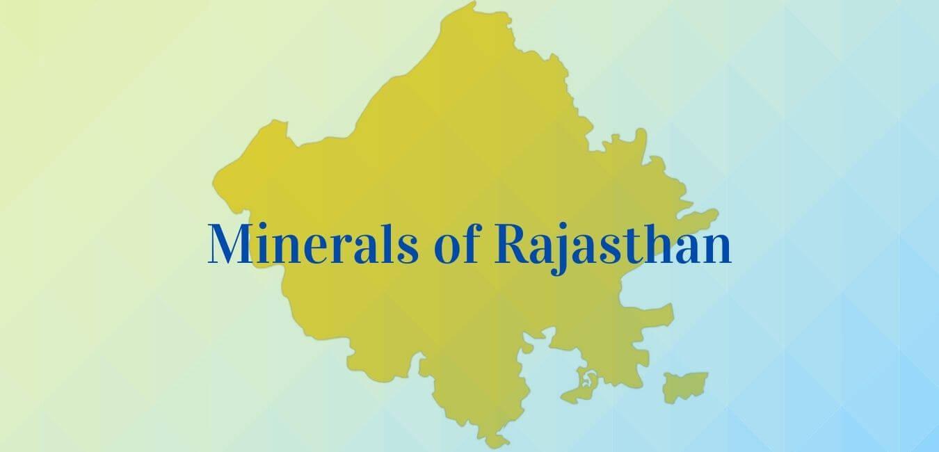 Minerals in Rajasthan
