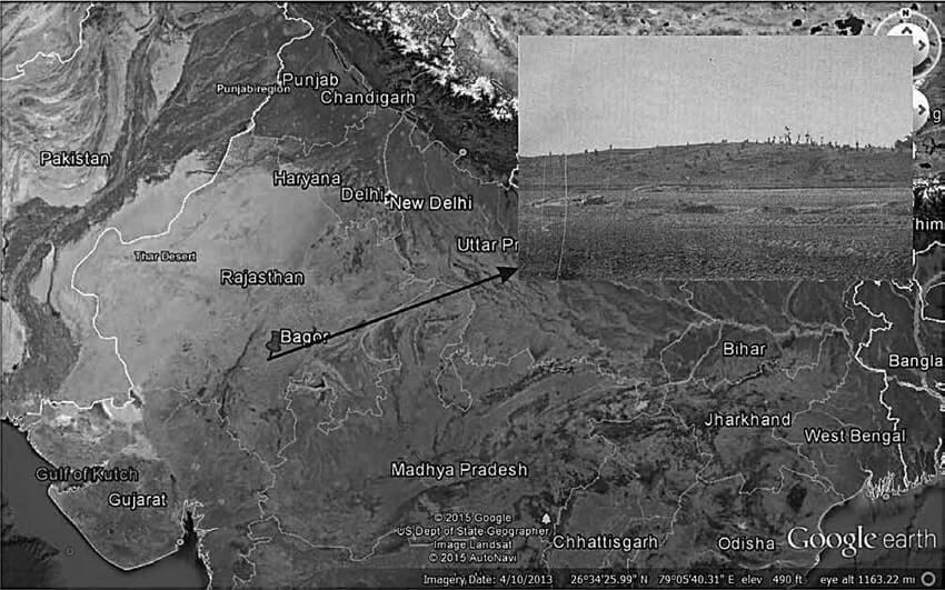 Archaeological Site of Bagor in Bhilwara