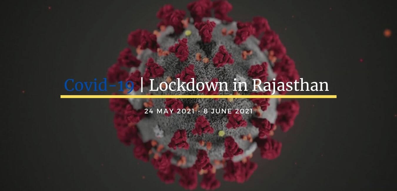 Lockdown June 2021 Rajasthan
