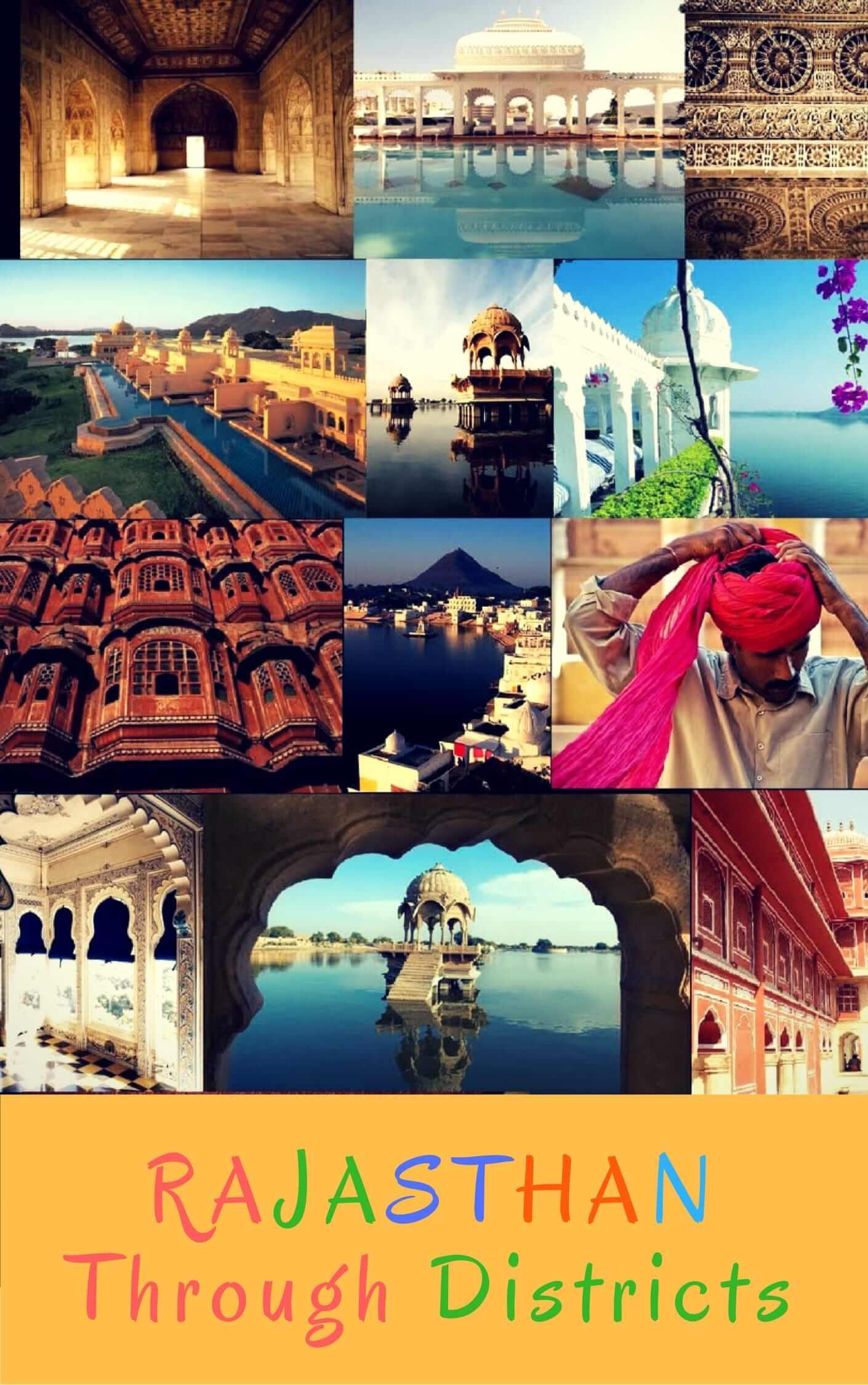 Rajasthan Through Districts: RAS edition: Book & PDF