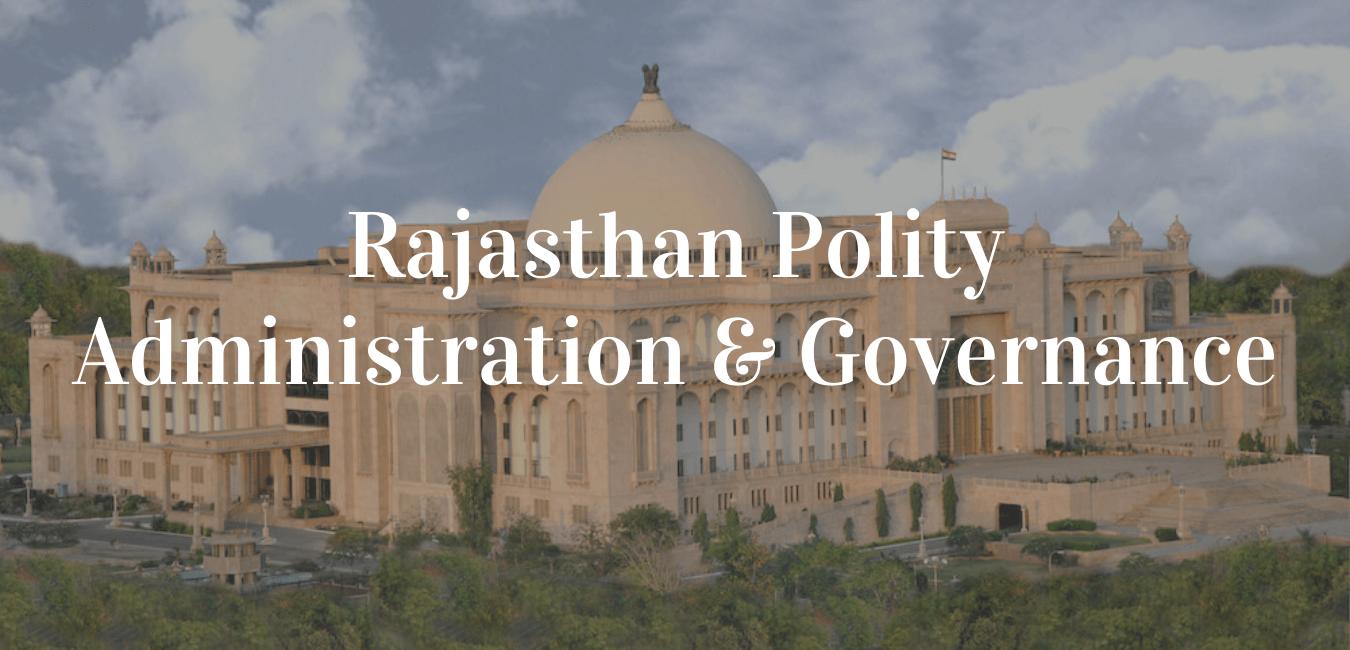 Rajasthan Polity
