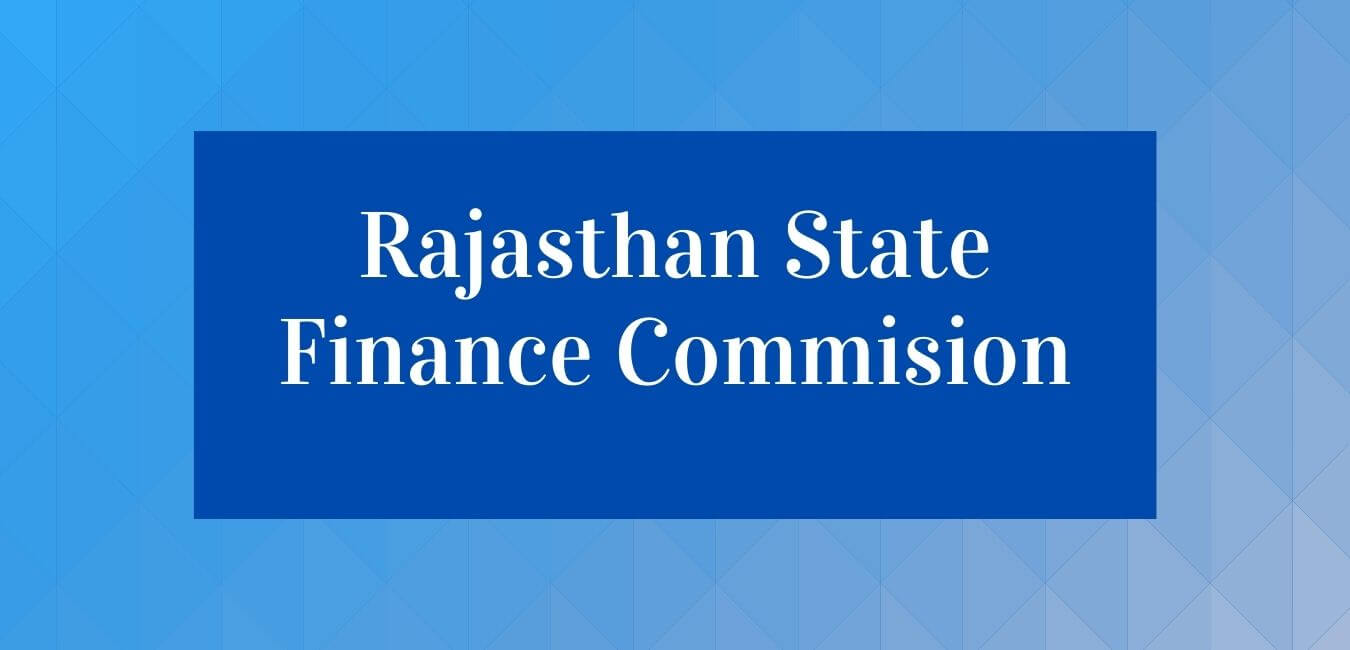 Rajasthan State Finance Commission (SFC)