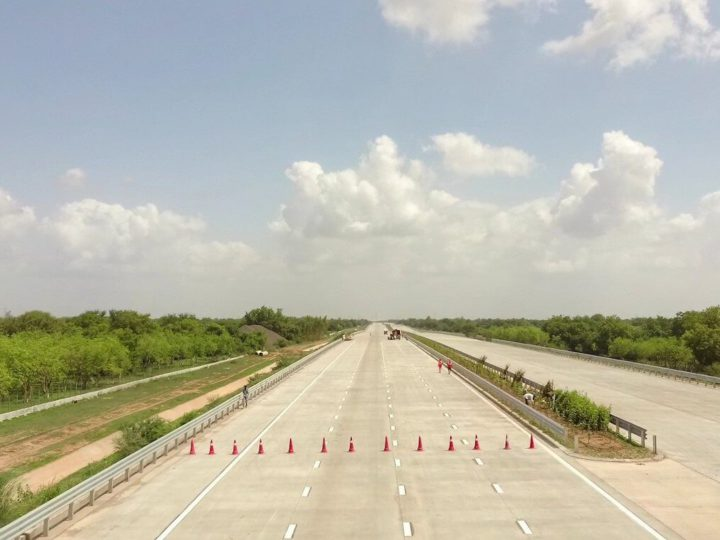 Minister Gadkari to review the progress of Delhi-Mumbai Expressway