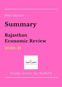Economic Review Summary 2020-21 by RajRAS